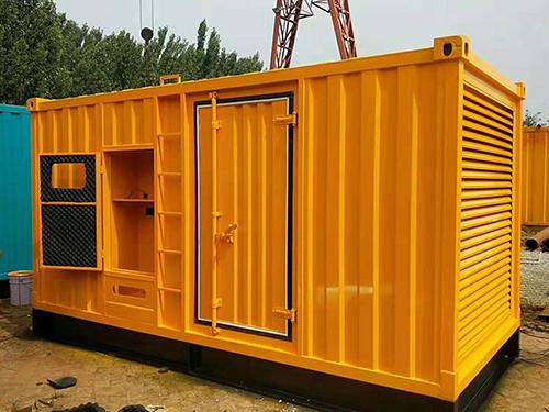发电机组利来w66网站房